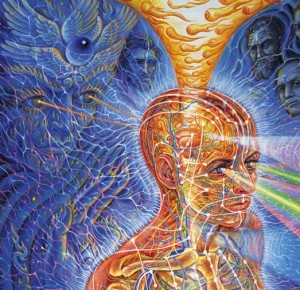 Alex Grey Painting